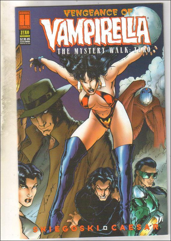 Vengeance of Vampirella The Mystery Walk Zero comic book mint 9.8