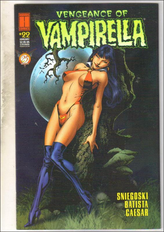 Vengeance of Vampirella #22 comic book near mint 9.4