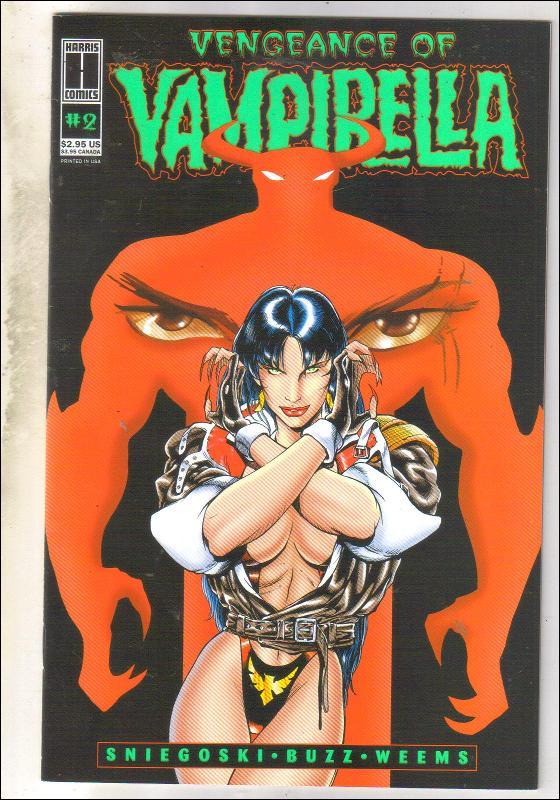 Vengeance of Vampirella #2 comic book  mint 9.4