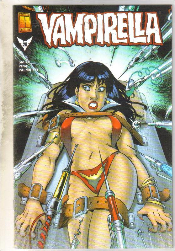 Vampirella #20 comic book near mint 9.4