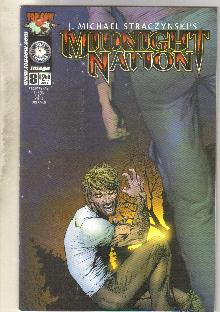 Midnight Nation #8 comic book near mint 9.4