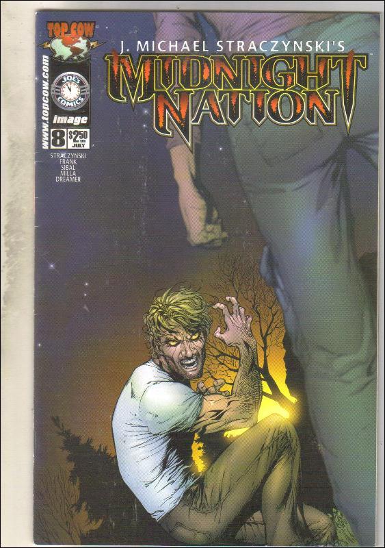 Midnight Nation #8 comic book near mint 9.4