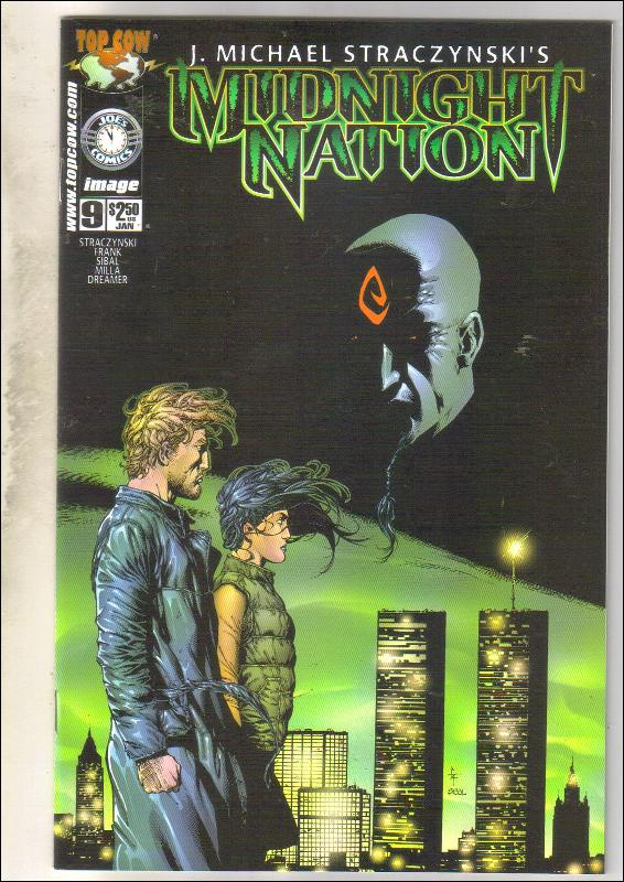 Midnight Nation #9 comic book  mint 9.8