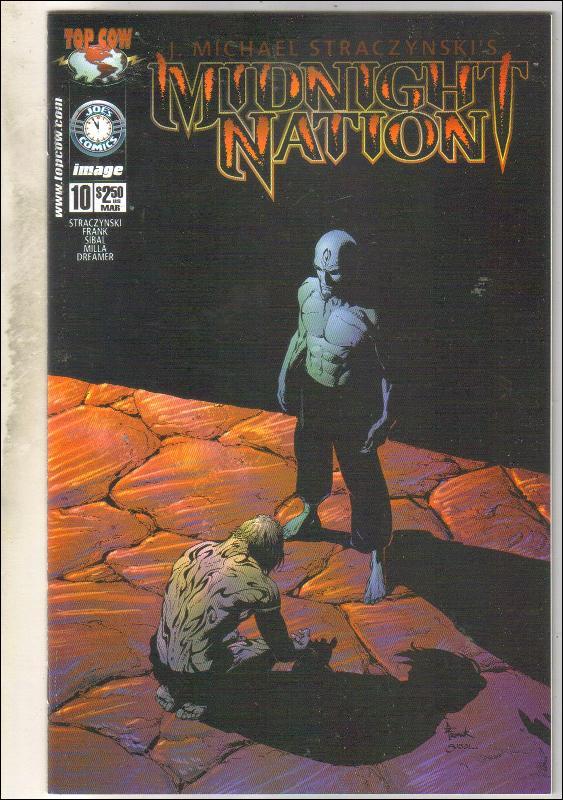 Midnight Nation #10 comic book near mint 9.4