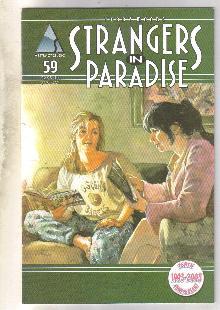Strangers In Paradise #59 comic book near mint 9.4