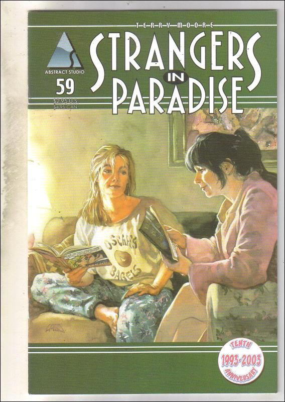Strangers In Paradise #59 comic book near mint 9.4