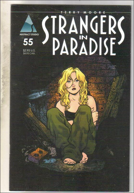 Strangers In Paradise #55 comic book near mint 9.4
