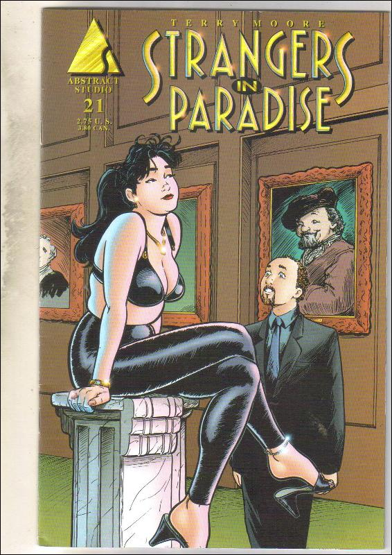 Strangers In Paradise #21 comic book very fine/near mint 9.0