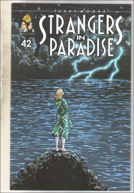 Strangers In Paradise #42 comic book near mint 9.4