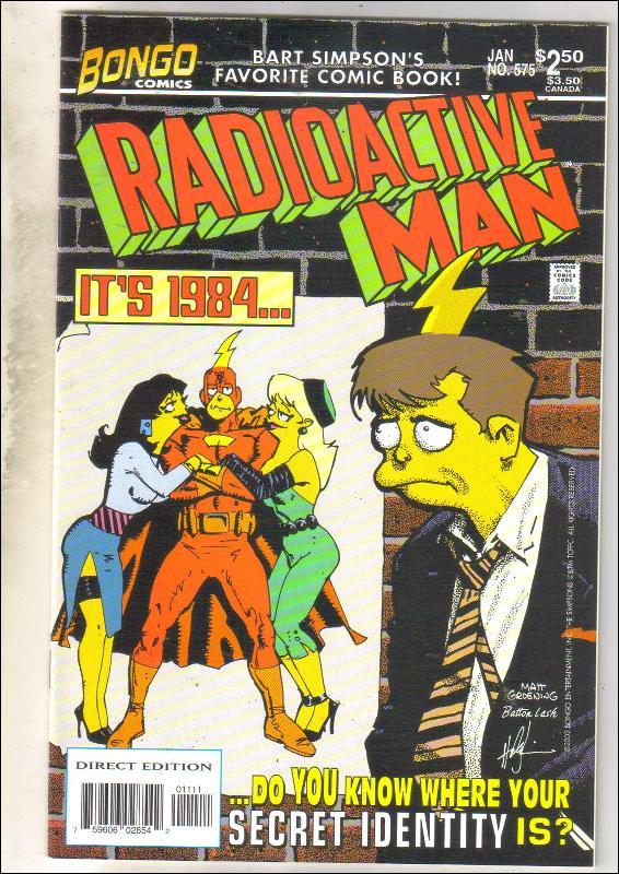 Radioactive Man #5 comic book near mint 9.4