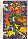 Street Fighter II #2 comic book near mint 9.4
