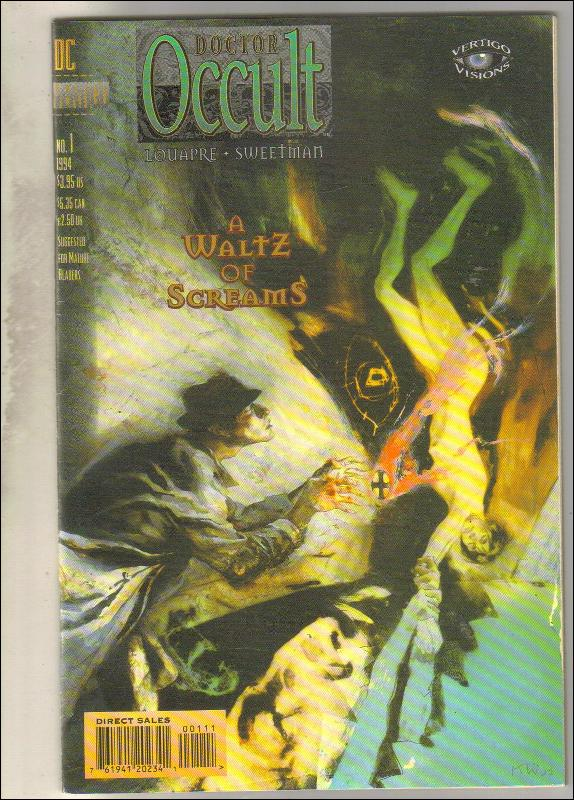 Doctor Occult #1 comic book near mint 9.4