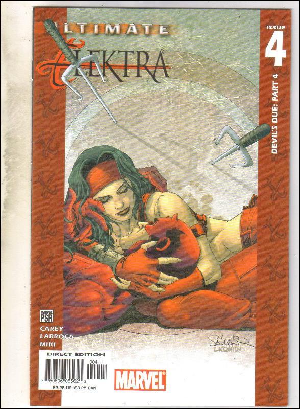 Ultimate Elektra #4 comic book near mint 9.4
