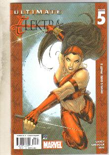 Ultimate Elektra #5 comic book near mint 9.4