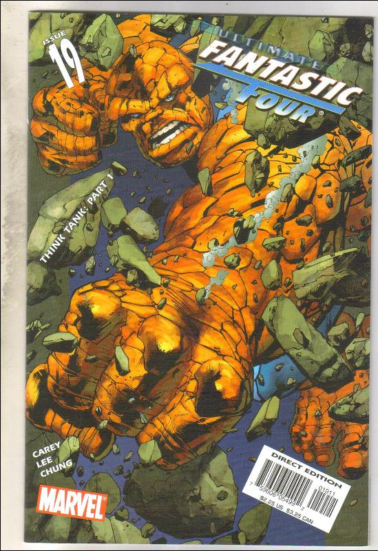 Ultimate Fantastic Four #19 comic book mint 9.8