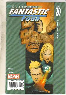 Ultimate Fantastic Four #20 comic book near mint 9.4