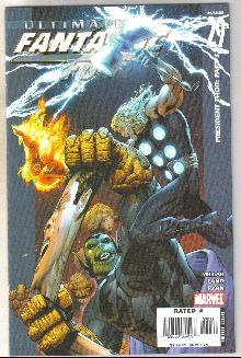 Ultimate Fantastic Four #29 comic book near mint 9.4