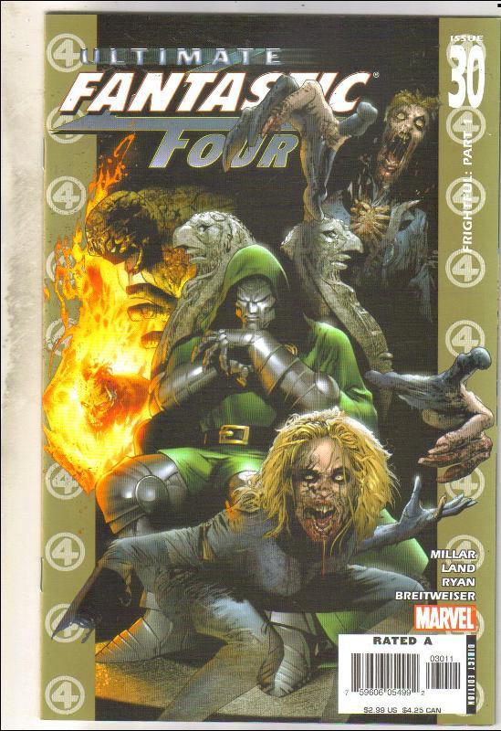 Ultimate Fantastic Four #30 comic book mint 9.8