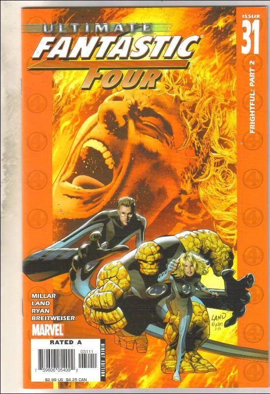 Ultimate Fantastic Four #31 comic book near mint 9.4
