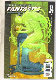 Ultimate Fantastic Four #34 comic book mint 9.8