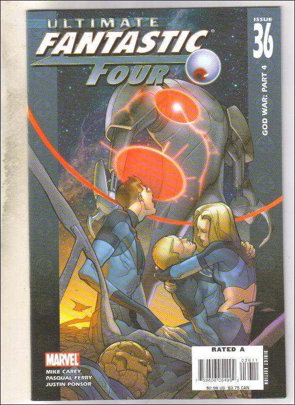 Ultimate Fantastic Four #36 comic book mint 9.8