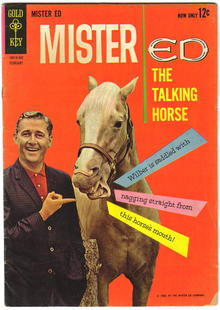 Mister Ed #2 comic book vg/fn 5.0