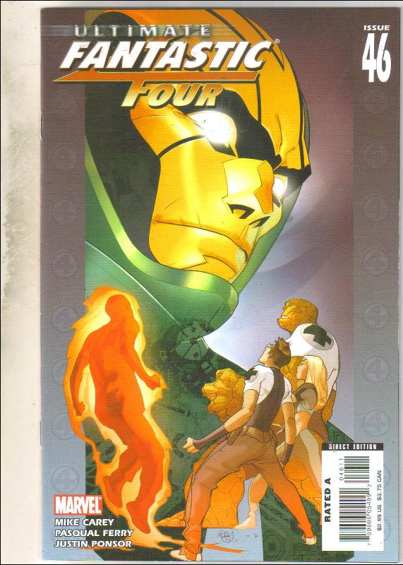 Ultimate Fantastic Four #46 comic book mint 9.8