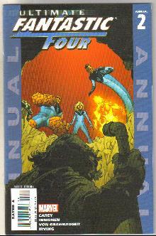 Ultimate Fantastic Four Annual #2 comic book mint 9.8