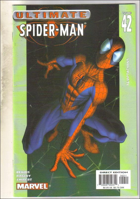 Ultimate Spider-man #42 comic book near mint 9.4