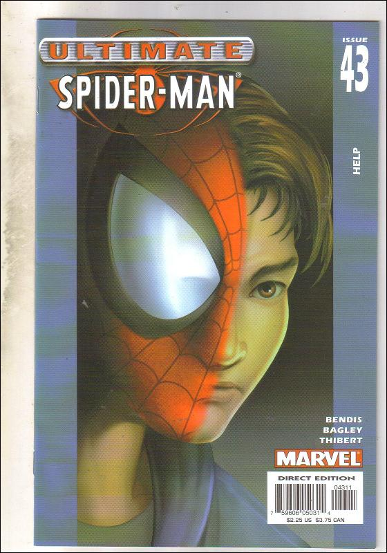 Ultimate Spider-man #43 comic book near mint 9.4