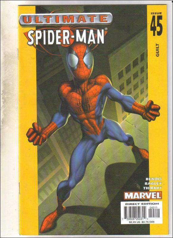 Ultimate Spider-man #45 comic book near mint 9.4