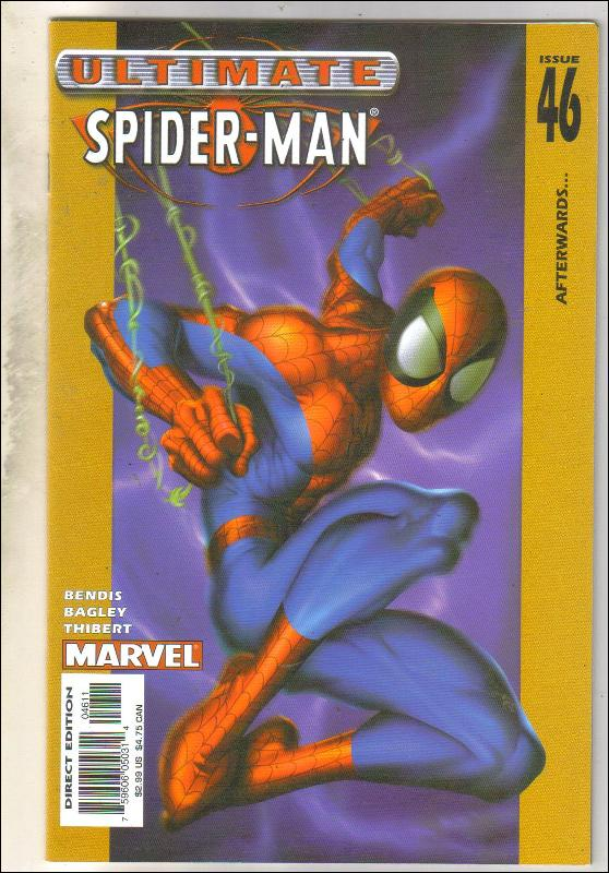 Ultimate Spider-man #46 comic book near mint 9.4