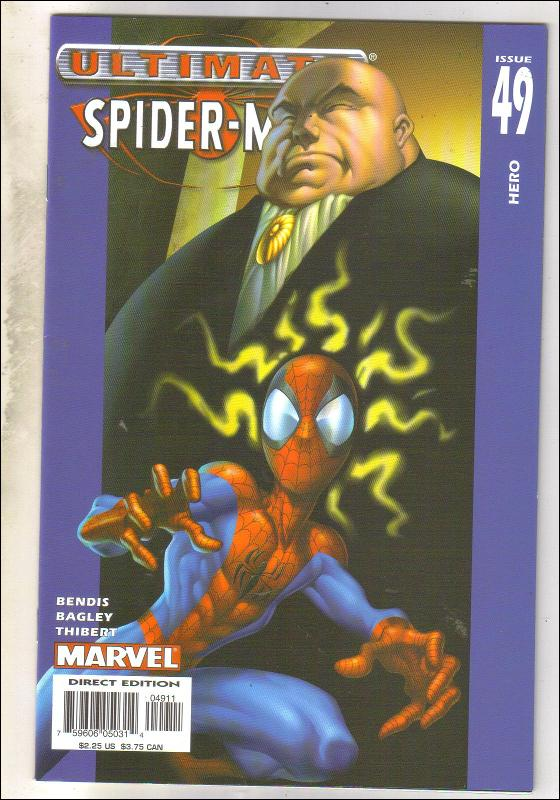Ultimate Spider-man #49 comic book near mint 9.4