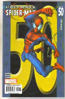 Ultimate Spider-man #50 comic book near mint 9.4