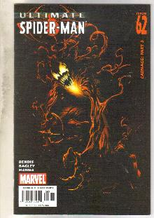 Ultimate Spider-man #62 comic book near mint 9.4