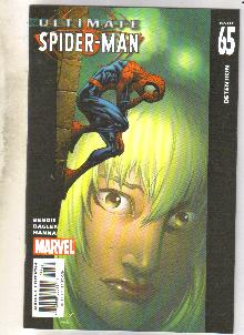 Ultimate Spider-man #65 comic book near mint 9.4