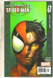 Ultimate Spider-man #67 comic book near mint 9.4