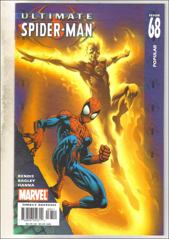 Ultimate Spider-man #69 comic book near mint 9.4
