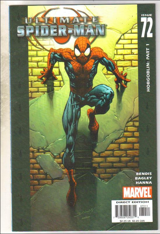 Ultimate Spider-man #72 comic book near mint 9.4