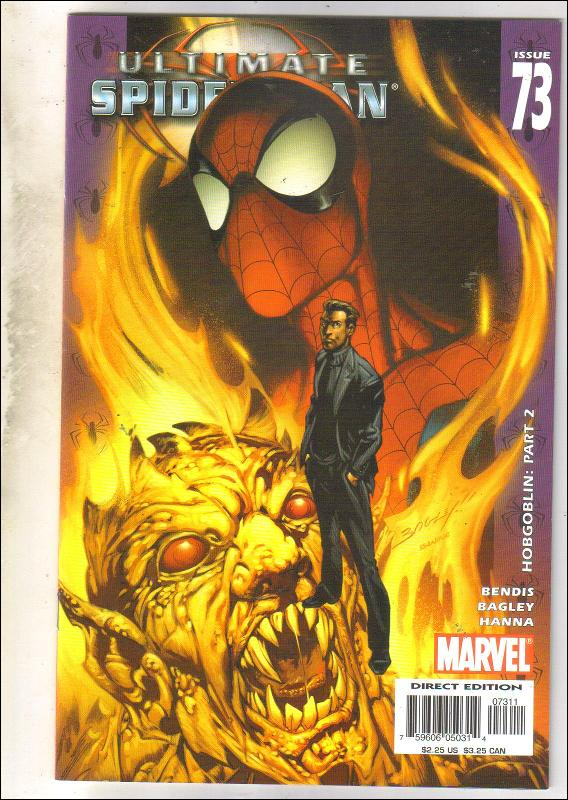 Ultimate Spider-man #73 comic book near mint 9.4