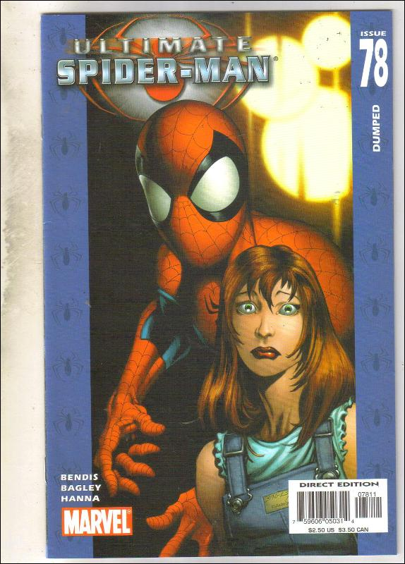 Ultimate Spider-man #78 comic book near mint 9.4