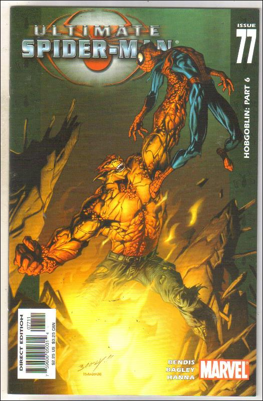 Ultimate Spider-man #77 comic book near mint 9.4