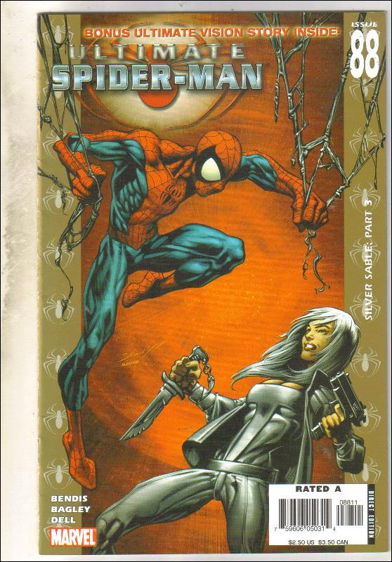 Ultimate Spider-man #88 comic book near mint 9.4
