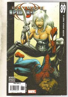 Ultimate Spider-man #89 comic book near mint 9.4