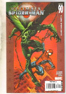 Ultimate Spider-man #90 comic book near mint 9.4