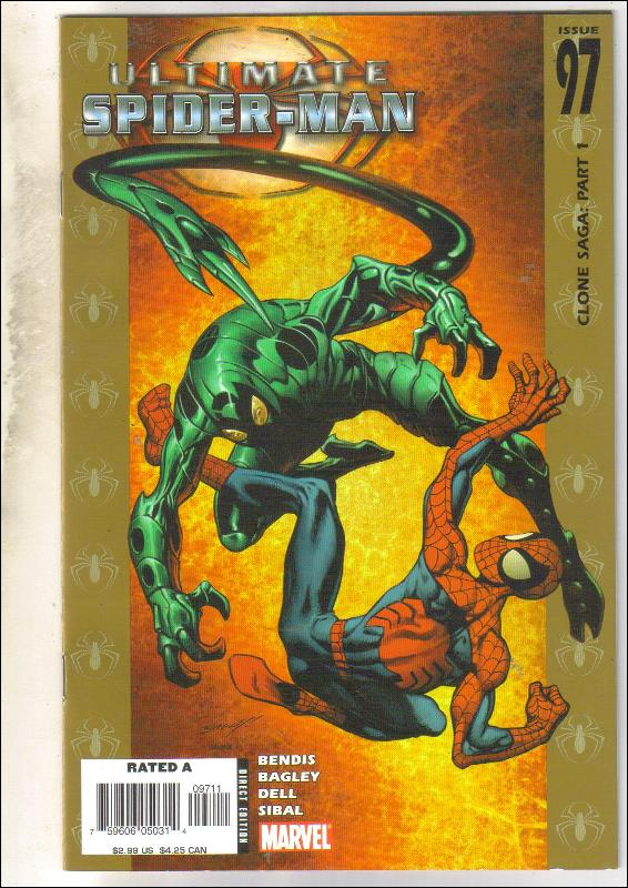 Ultimate Spider-man #97 comic book  mint 9.8