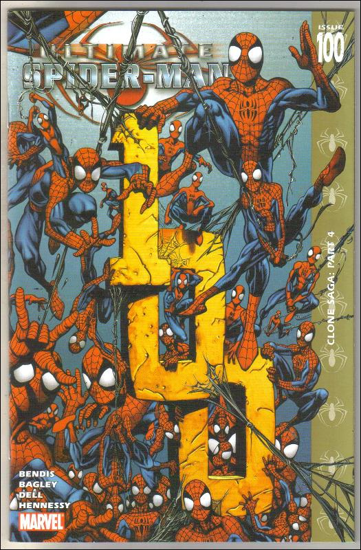 Ultimate Spider-man #100 comic book  mint 9.8