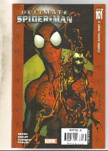 Ultimate Spider-man #101 comic book  mint 9.8
