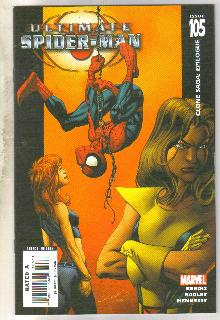 Ultimate Spider-man #105 comic book near mint 9.4