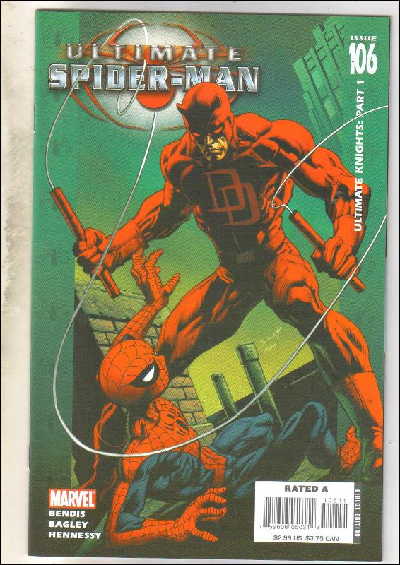 Ultimate Spider-man #106 comic book near mint 9.4
